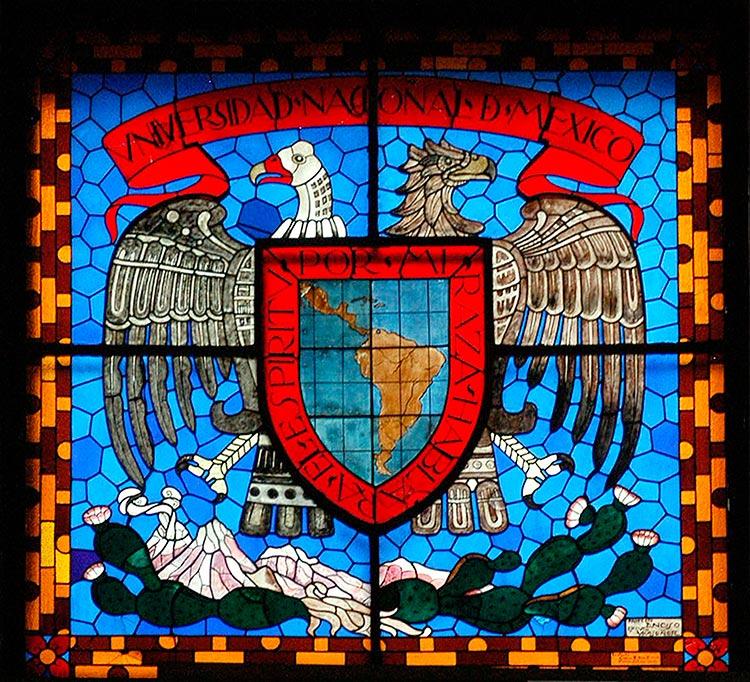 Escudo y lema propuestos por José Vasconcelos