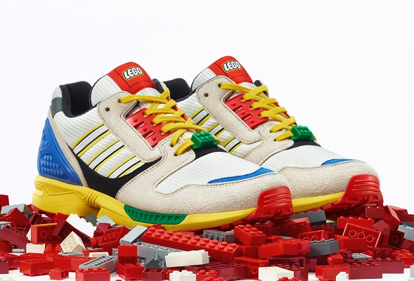 LEGO y adidas lanzarán estos coloridos tenis juntos