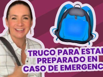Mochila de emergencia, trucos fáciles y sencillos para armar una