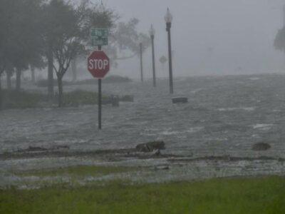 Huracán Sally inundaciones