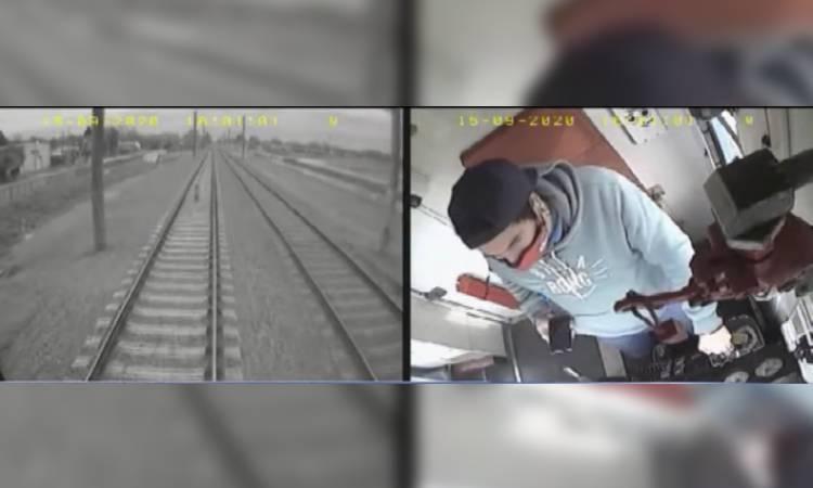 niño arrollado Tren Argentina