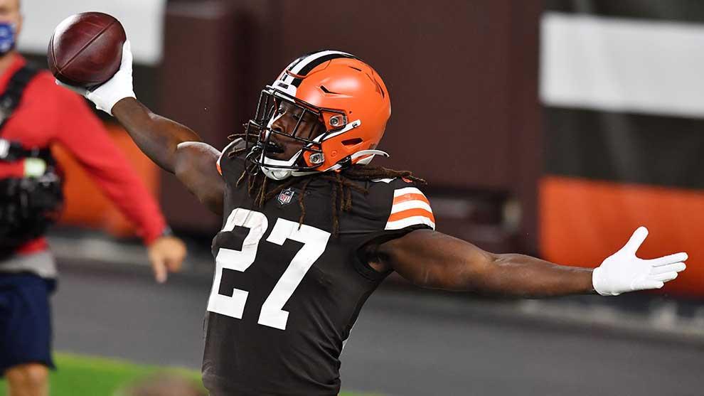 Los Browns se ponen con marca 1-1