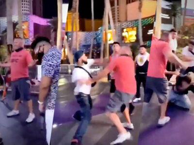 sucios mexicanos Las Vegas golpiza