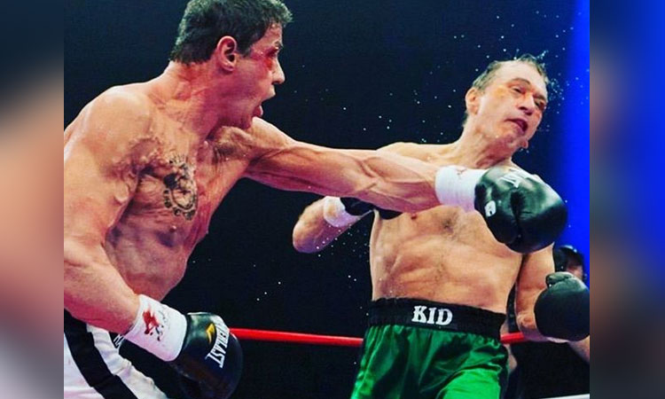 Sylvester Stallone reveló una serie de imágenes inéditas de Rocky IV para celebrar el 35 aniversario del largometraje del campeón Rocky Balboa.