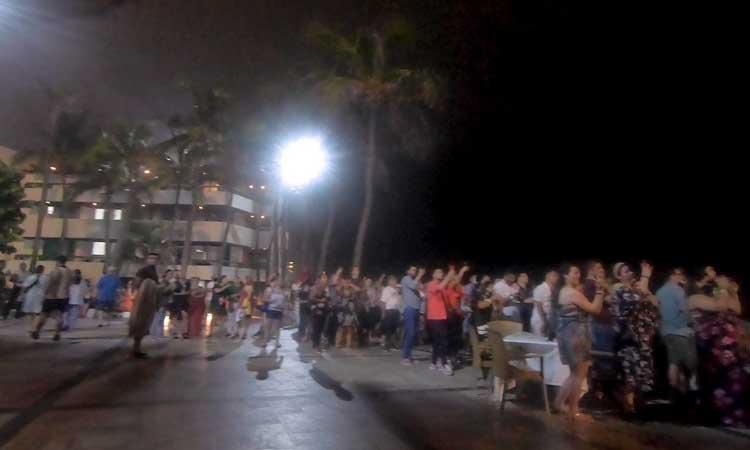 Sinaloa: Grito de Independencia sin sana distancia en Mazatlán