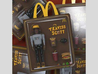 Travis Scott x McDonalds: esta es la primera hamburguesa diseñada por un rapero