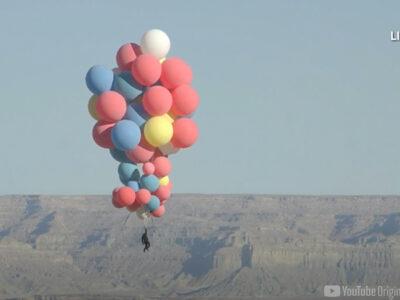 Globos de helio mago