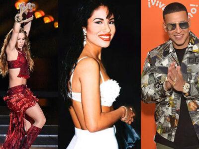 Shakira, Selena, Daddy Yankee mejores discos