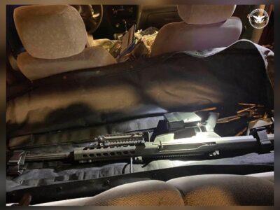 Sonora: Cae mujer con fusil Barrett y 8 mil cartuchos en Nogales