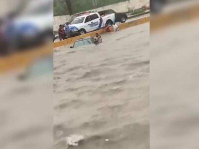 Tamaulipas: rescatan a mujer de morir ahogada en Reynosa