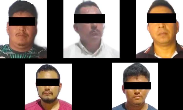 Veracruz: Rescatan a 37 migrantes y caen 5 por tráfico de personas