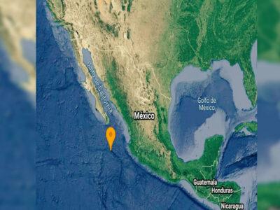 Baja California Sur reporta dos sismos en menos de 15 minutos