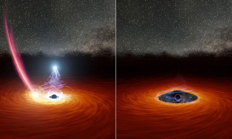 Descubren choque de agujeros negros; es la explosión más grande desde el Big Bang