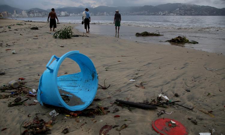 Basura en costas mexicanas vienen de EU, Asia y Centroamérica