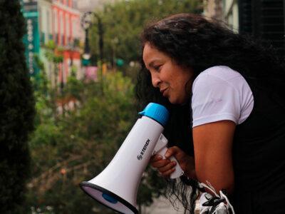 "CNDH: Yesenia Zamudio se retira de instalaciones ""por amenazas"""