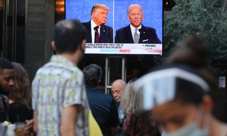 Trump o Biden? ¿quién ganó el primer debate presidencial en EU? - Uno TV