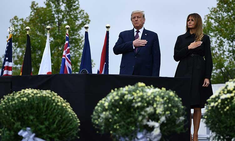 Donald Trump, presidente de Estados Unidos y su esposa Melania.