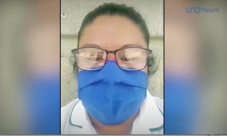 enfermera amenazas
