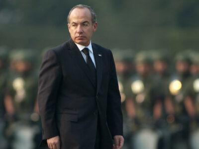 Felipe Calderón expresidentes AMLO