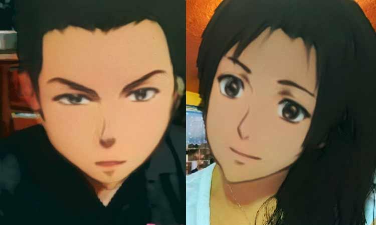 filtro de anime de Snapchat