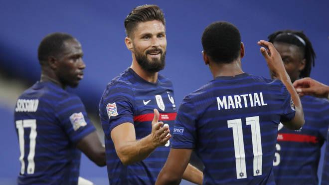 Francia y Croacia repitieron el marcador del 2018