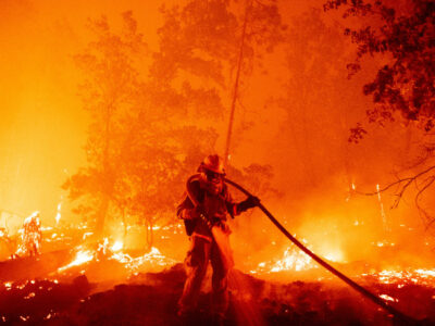 Incendios forestales California EU