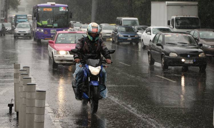 CDMX amanece con lluvia en estas zonas; ve cómo va a estar el clima