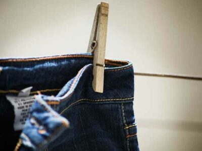 microfibras de jeans
