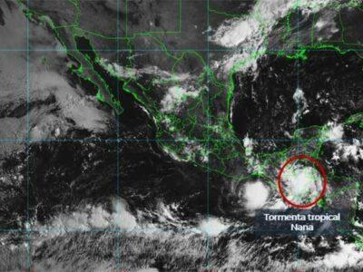 Los estados en los que lloverá más son: Campeche, Chiapas, Oaxaca, Tabasco y Veracruz.