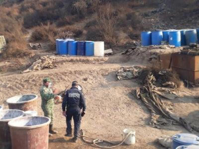 Hallan narcolaboratorio en Baja California; ve imágenes