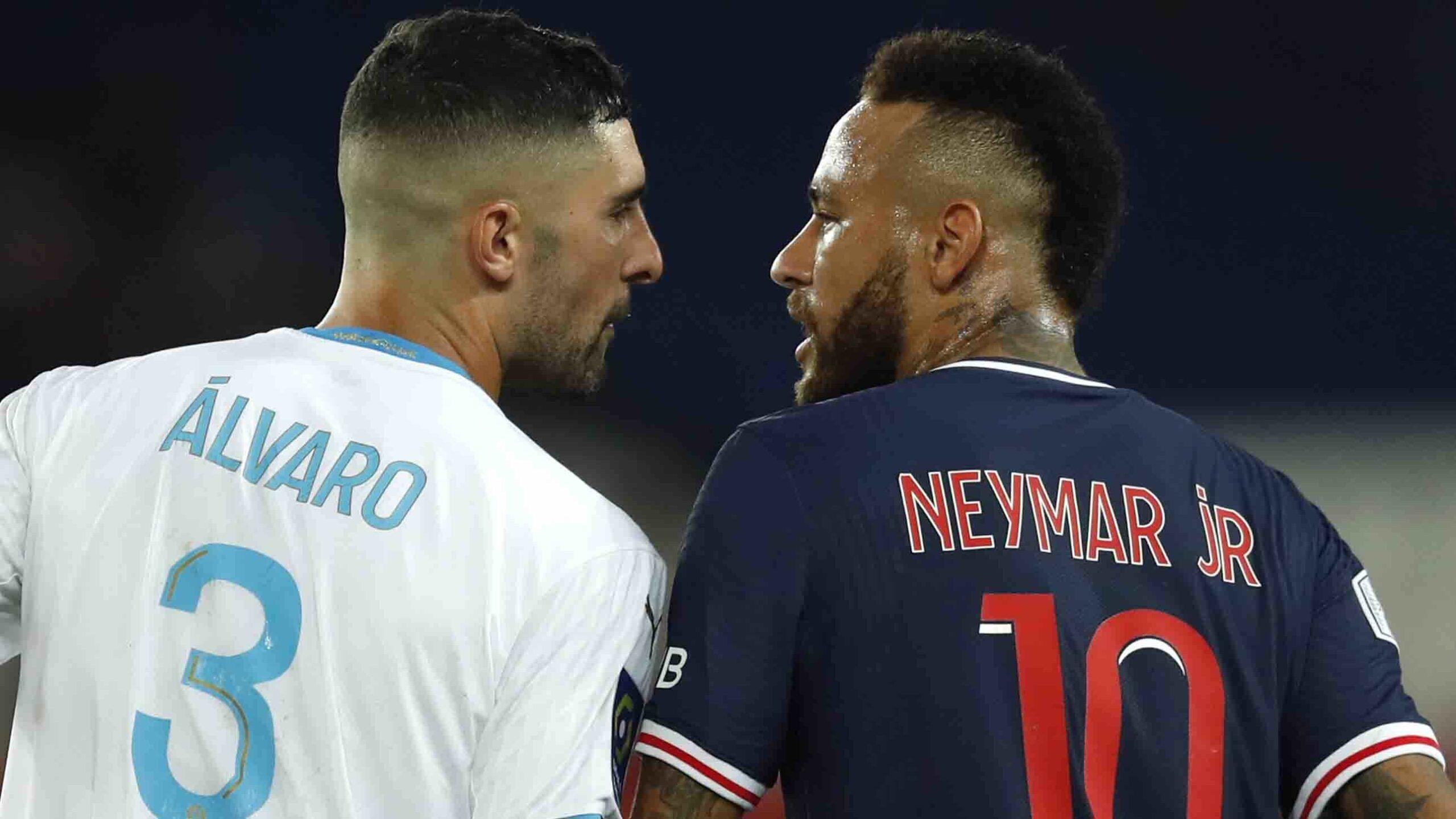 Álvaro y Neymar se enfrascaron en una discusión el fin de semana