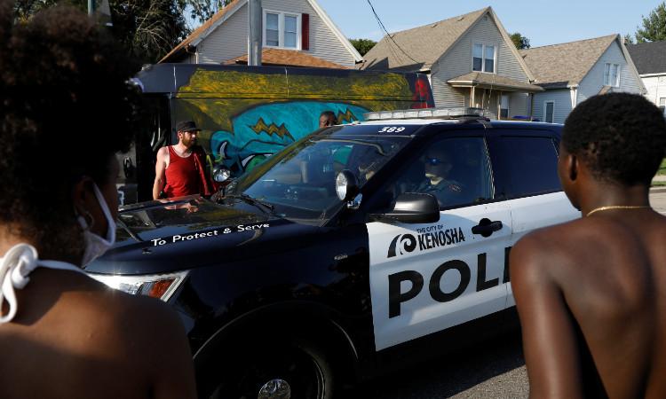 Policía afroamericano