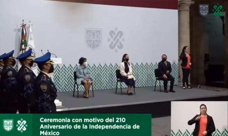 En CDMX recuerdan a mujeres del movimiento de Independencia