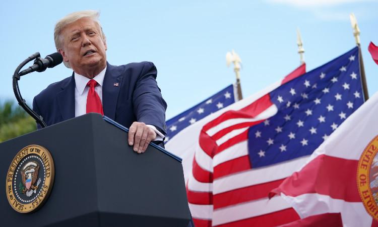 Trump es nominado al Premio Nobel de la Paz 2021