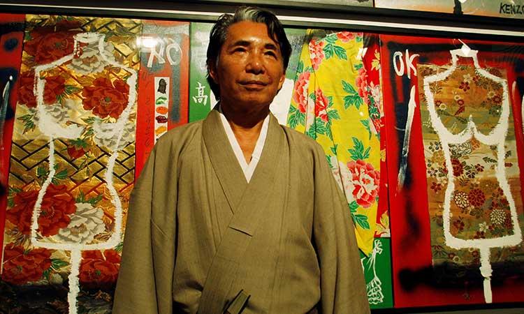 COVID-19: diseñador japonés Kenzo falleció por esta pandemia