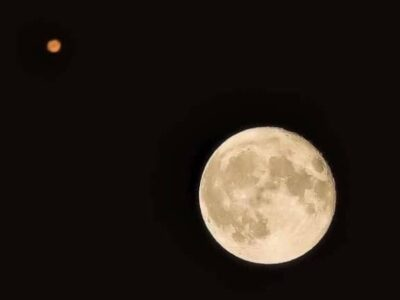 Luna y Marte