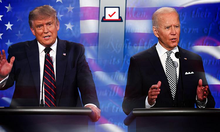 Elecciones EU: Biden sigue a la delantera sobre Trump: encuestas