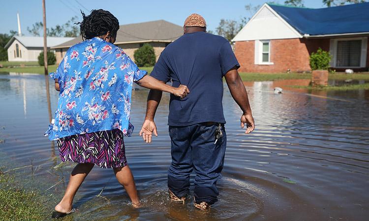 Huracán Delta: comienza evolución de daños en Luisiana, EU