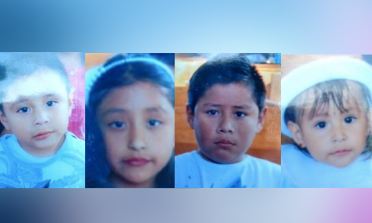 Alerta Amber: activan mecanismo por 4 hermanitos desaparecidos en Ixtapaluca