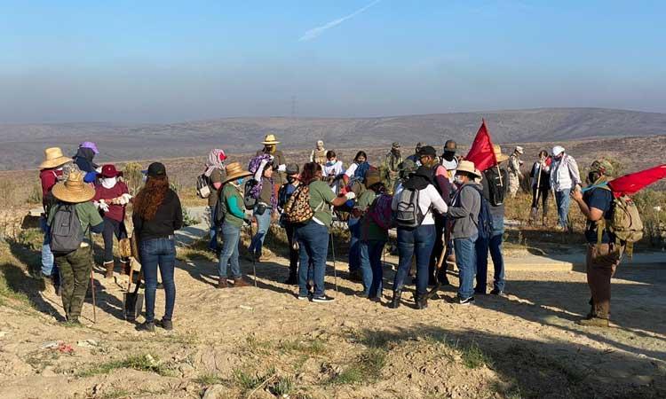 Colectivos buscan a personas desaparecidas en Baja California