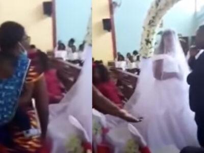Boda fallida: mujer irrumpe en iglesia, el novio era su marido