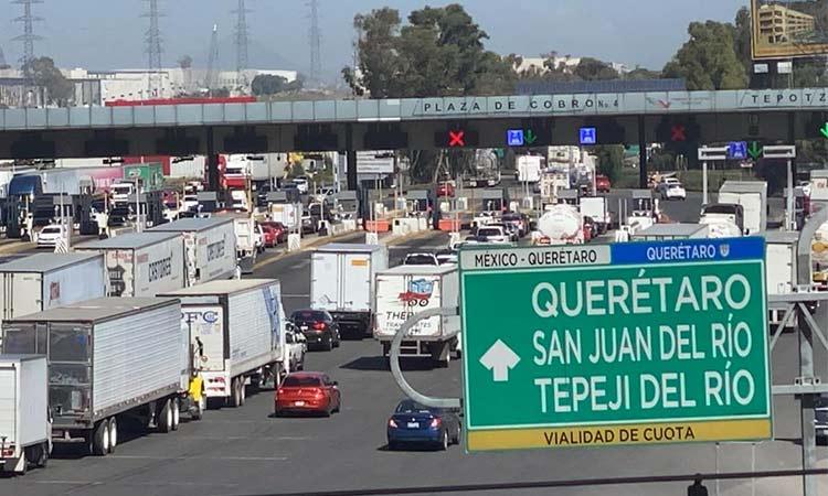 Tras 24 horas tomada, Guardia Nacional libera caseta de cobro de Tepotzotlán