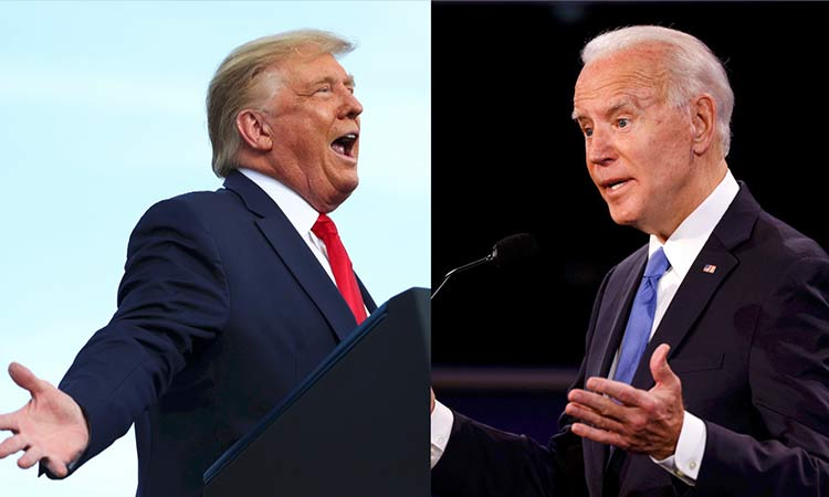 Debate Donald Trump vs Joe Biden
