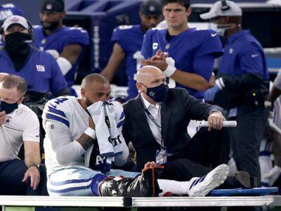 Dak Prescott de Dallas sufre brutal lesión