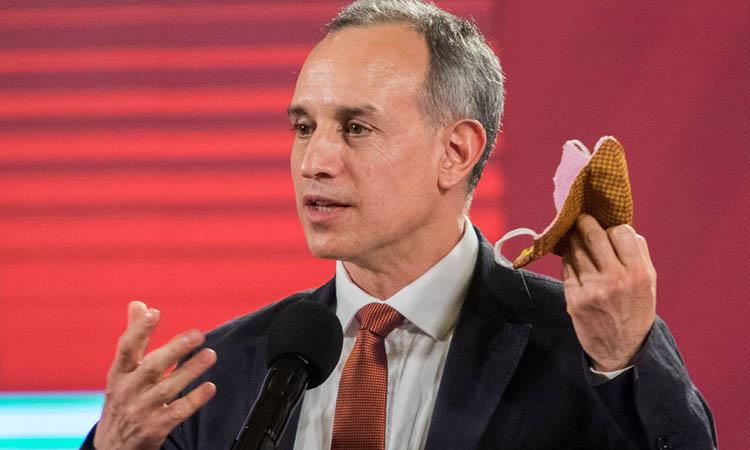 Hugo López Gatell y sus enredos cuando habla del uso del cubrebocas
