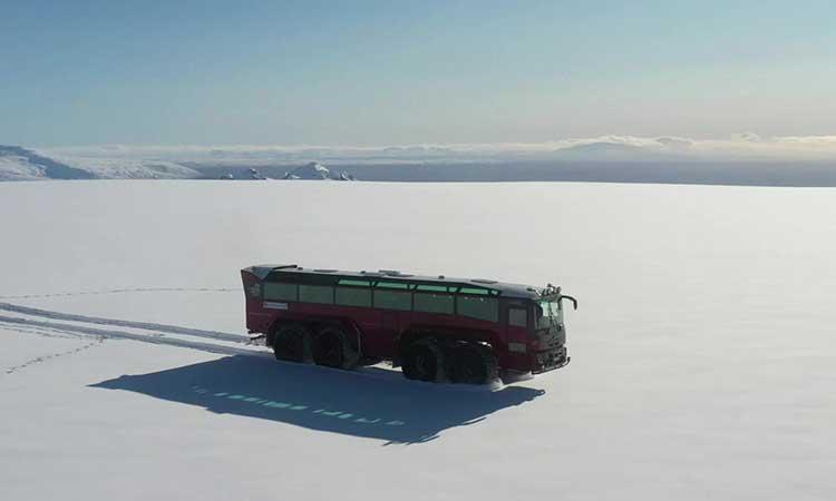 Los especialistas creen que este glaciar se formó hace unos 2 mil 500 años.