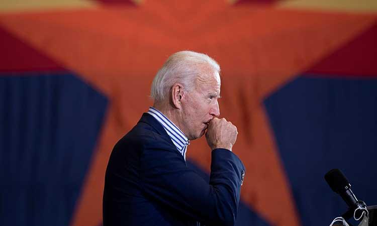 """Joe Biden elogió al FBI y a la policía """"por su trabajo para prevenir el secuestro."""