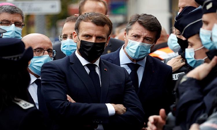 "Emmanuel Macron tacha de ""ataque terrorista islamista"", incidente en Niza"