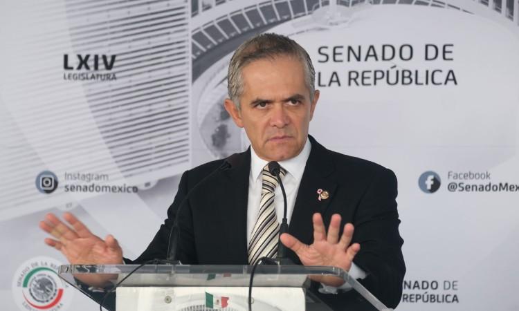 Miguel Ángel Mancera, inhabilitado para trabajar en Gobierno de CDMX