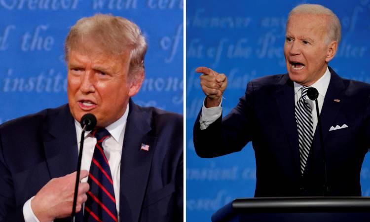 debate presidencial Trump-Biden